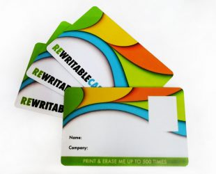 Re-writable-cards