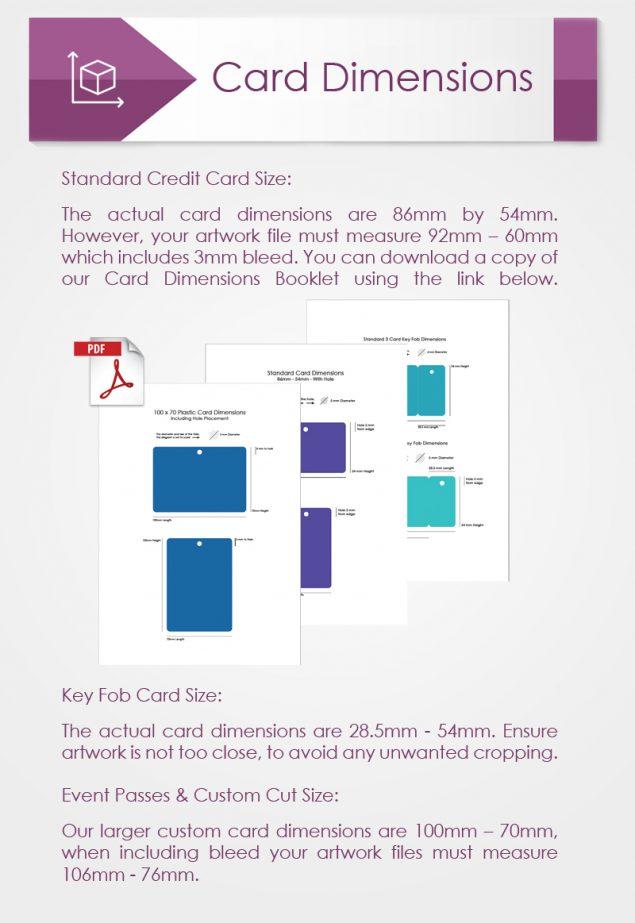 Card Dimensions
