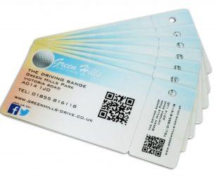 Custom Shaped Membership Card
