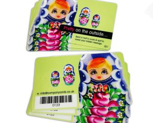 Snap plastic cards