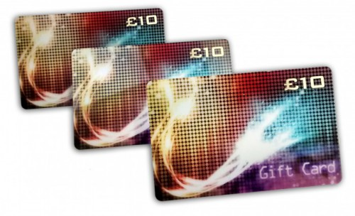 Plastic Gift Card