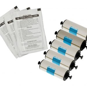 Zebra Cleaning Kit 5 Rollers and 5 Cleaning Cards