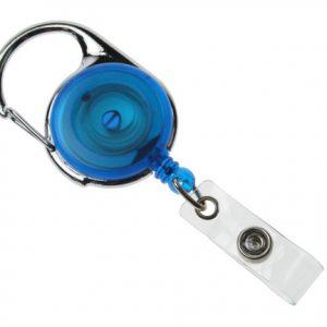 100 Blue Carabineer Card Reels