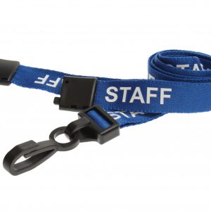100 Blue Staff Lanyards
