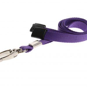 100 Purple Lanyards