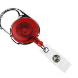 100 Red Carabineer Card Reels