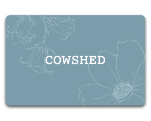 custom gift cards case study - Cowshed